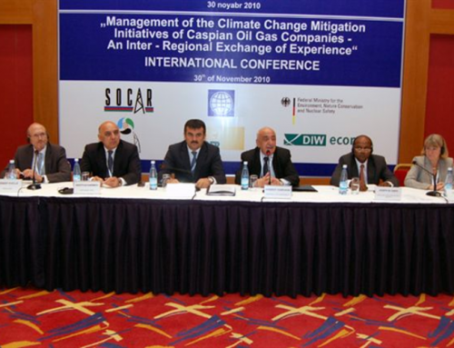 Development of a climate change mitigation strategy of Azerbaijan's oil and gas company SOCAR